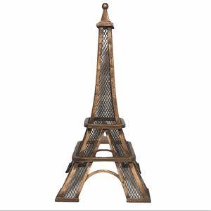 "12.5"" Metal Eiffel Tower Home Decor"
